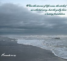 Storm Rushes In, Atlantic Beach by Photos4God