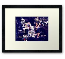 High Fashion Dolls Fine Art Print Framed Print