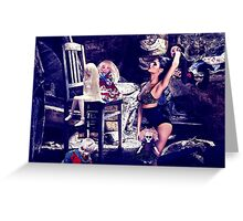 High Fashion Dolls Fine Art Print Greeting Card