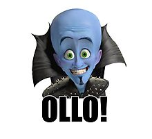 Megamind - Will Ferrell - Ollo! Hello! Photographic Print