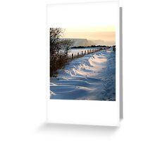 Winter Sisters Greeting Card