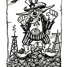 Uncle Sam... Corporate Clown by Sam Dantone