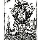 Uncle Sam... Corporate Clown by Sam Dantone