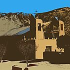 Church at Chimayo by gcampbell