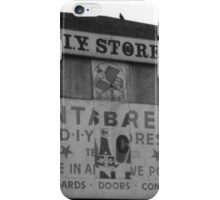 Abstract sign iPhone Case/Skin
