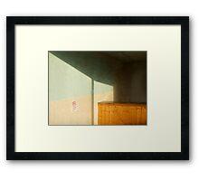 D' DELI Framed Print