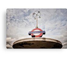 Oakwood Tube Station Canvas Print