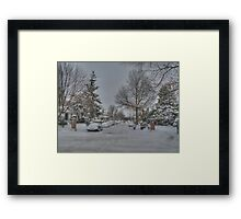 Walk on Beverley Road Framed Print