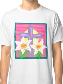 Jesus Easter Cross Classic T-Shirt