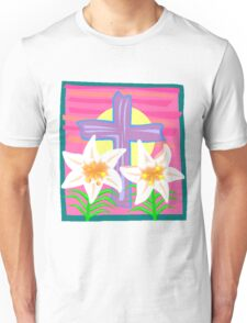 Jesus Easter Cross Unisex T-Shirt