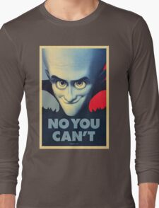 Megamind - Will Ferrell - Obama T-shirt Long Sleeve T-Shirt