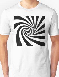 Black and White Vortex T-Shirt