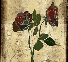 2 roses - valentine day by frederic levy-hadida