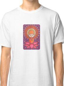 Jizo Meditating upon a Ruby Lotus Classic T-Shirt