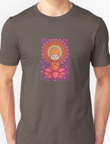 Jizo Meditating upon a Ruby Lotus Unisex T-Shirt