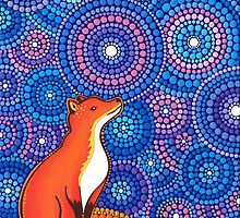 Star Gazing Fox by Elspeth McLean