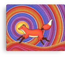 Fearless Friendly Fox  Canvas Print