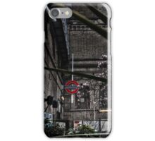 Parsons Green Tube Station iPhone Case/Skin