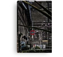 Parsons Green Tube Station Canvas Print
