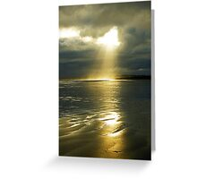 Let it shine.... Greeting Card