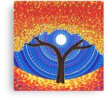 Autumn Moon Canvas Print