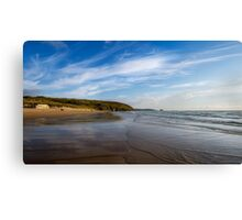 Perranporth Beach,North Cornwall Canvas Print