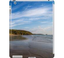 Perranporth Beach,North Cornwall iPad Case/Skin