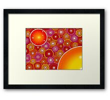 Nursery of Stars Framed Print