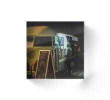 Night Van Acrylic Block