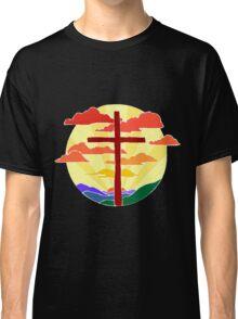 Christian Cross Sunrise Classic T-Shirt