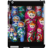 Colorful Russian Nesting Dolls Matreshka iPad Case/Skin