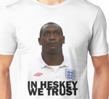 In HESKEY we trust - ENGLAND FOOTBALL Unisex T-Shirt