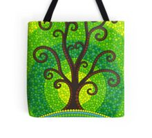 unfurling tree of lushiousness Tote Bag