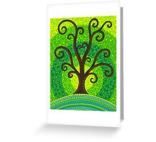 unfurling tree of lushiousness Greeting Card