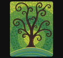 unfurling tree of lushiousness Kids Clothes