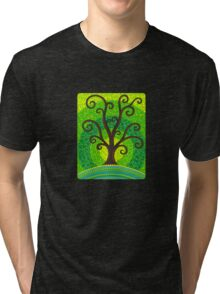 unfurling tree of lushiousness Tri-blend T-Shirt
