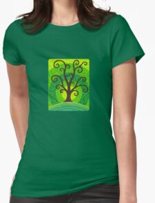 unfurling tree of lushiousness Womens Fitted T-Shirt