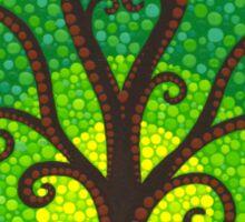 unfurling tree of lushiousness Sticker