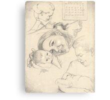 Birth of Zach Canvas Print