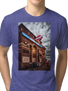 Plaistow Tube Station Tri-blend T-Shirt