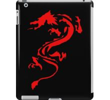 Classic Red Dragon Silhouette iPad Case/Skin