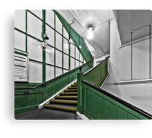 Putney Bridge Tube Station Canvas Print