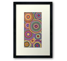 Cosmically dotti Framed Print