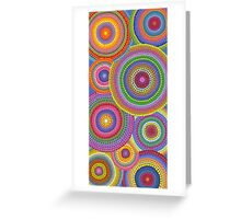 Cosmically dotti Greeting Card