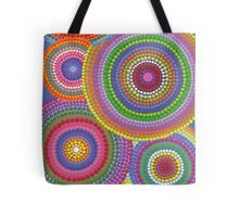 Cosmically dotti Tote Bag