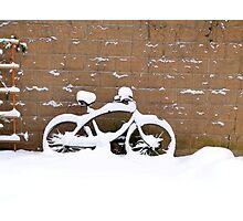 snowbike Photographic Print
