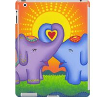 Love at its heartiest iPad Case/Skin