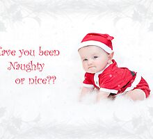 Have you been naughty or nice??? by Sue Wilson (Kane)