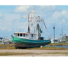Shrimp Boat Photographic Print