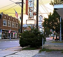 Downtown Ellenville, New York by thomasjack